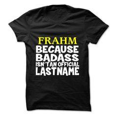 [Hot tshirt name list] FRAHM Teeshirt this month Hoodies, Funny Tee Shirts