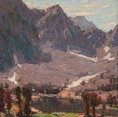 Edgar Paine made his home in Laguna Beach where he started the Laguna Beach Art Association.  he served as its first president.