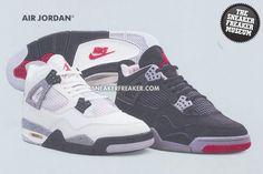 Vintage Jordans in our Sneaker Freaker museum!