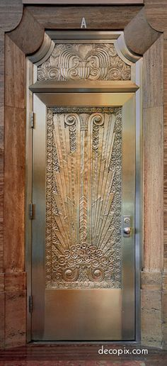 Door, Gulf Bldg. - Houston, Texas