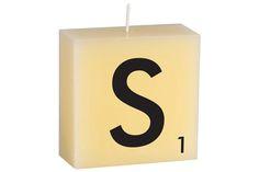 """S"" Scrabble Letter"