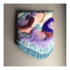 MADE TO ORDER  Woven wall hanging / Furry Lanscape n.4 by jujujust