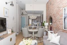 This Polished Condo Will Make You Fall in Love With Exposed Brick All Over Again – HGTV's Great Canadian Homes