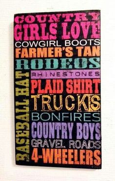 Country girl love