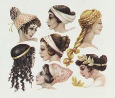 Historical Greek Hairstyles Hairstyles of the greek and