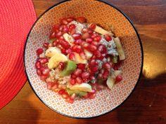 Bol matin aux fruits