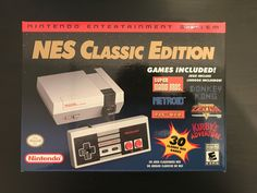 #videogames #Gamers #nintendo classic mini Nintendo NES Classic Mini Edition Console Brand New with 30 Games! 285.00      Item specifics     Condition:        New: A brand-new, unused, unopened,...