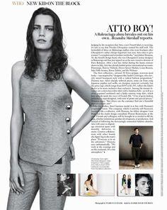 Atto Boy (W Magazine)