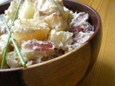 NORWEGIAN POTATO SALAD I pinned this more so for the site it's found in. Lots of interesting info!