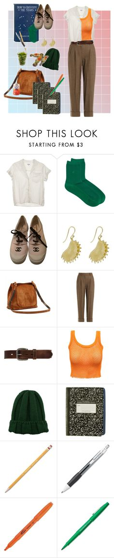 """campus #3"" by baclley on Polyvore featuring Steven Alan, agnès b., Chanel, Annette Ferdinandsen, Michael Kors, Bed