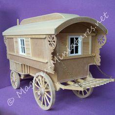 mcqueenie gypsy caravan kit  from www.magpies-miniatures.net
