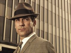 """jon hamm: don draper on tv's """"mad men""""truly one of the most iconic and awesome characters in tv history..."""
