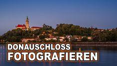 LANDSCHAFTSFOTOGRAFIE mit DONAU - SCHLOSS und BLAUER STUNDE | WALLSEE in... Scenery Photography