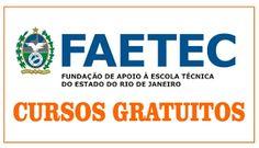 Faetec abre cursos gratuitos no Norte e Noroeste do RJ - https://superapostilados.blogspot.com.br/2016/08/faetec-abre-cu...