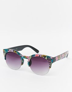 AJ Morgan   AJ Morgan Hula Sunglasses at ASOS