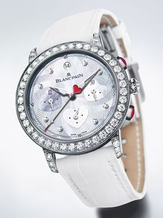 Blancpain Saint-Valentin Chronograph 2012 is specially designed for Valentine's Day