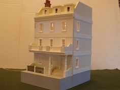 1 48 Scale 1 4 inch Scale 18th Century Dollhouse Townhouse Hand Crafted Built | eBay Needle Felted Animals, Ooak Dolls, Doll Houses, 18th Century, Townhouse, Tiny House, Scale, Arts And Crafts, Miniatures