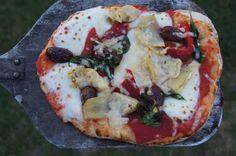 Homemade Italian Pizza Dough.