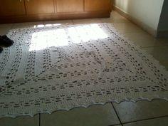 Resultado de imagem para tapetes retangular de croche com graficos