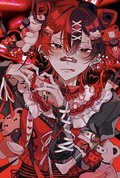 Anime Poses Reference, Art Reference, Goth Wallpaper, People Art, Boy Art, Yandere, Cute Art, Anime Guys, Amazing Art
