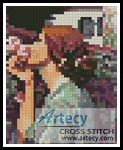 My Sweet Rose Card Counted Cross Stitch Pattern http://www.artecyshop.com/index.php?main_page=product_info&cPath=28&products_id=1110