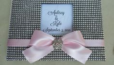 Bling Guest Book Set Wedding Quinceanera 15 by ParadiseBridal