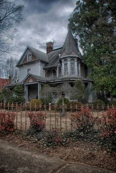 An old Victorian era home left to its own devices.