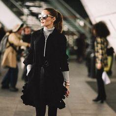 OP Airport Estilo Olivia Palermo, Olivia Palermo Lookbook, Olivia Palermo Style, Elie Saab, Christian Dior, Milan, High Fashion, Winter Fashion, Women's Fashion