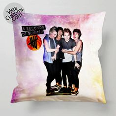 5SOS 5 Seconds of Summer pillow case, cover ( 1 or 2 Side Print With Size 16, 18, 20, 26, 30, 36 inch )