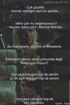 Eğer yaşarsam - İf i stay - Film Quotes, Real Quotes, Ted Mosby, Crazy Girls, If I Stay, Series Movies, Tv Series, Trust Yourself, Cool Words