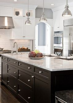Interior Kitchen Ideas | How To Add Color To Your Kitchen Island