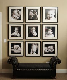 40 Creative Photo Wall Display Ideas to Decor Your Room Photowall Ideas, Photo Arrangement, Wall Decor, Room Decor, Hanging Pictures, Home And Deco, Photo Displays, Display Photos, Picture Frames