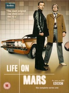 LIFE ON MARS  COMPLETE SERIES ONE  DVD BOX SET