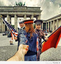 "Russian photographer Murad Osmann ""follows"" his girlfriend around the world - Photo Set"