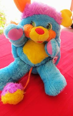 The Popples! I used to have them all!