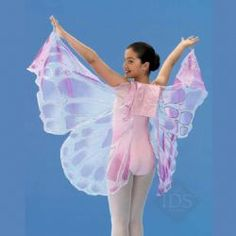 floaty butterfly wings. This is a site to purchase, but they are sold out. Using image for idea for DIY.