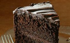 Engine Co. No. 28's double-chocolate layer cake