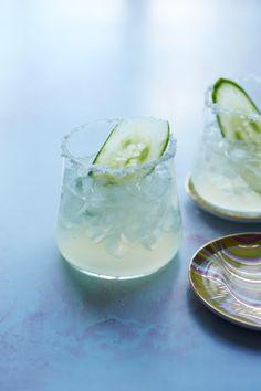 Cucumber magaritas