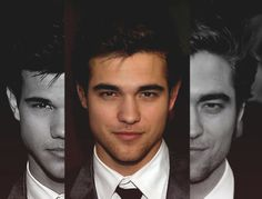 Robert Pattinson/Taylor Lautner hybrid. Delicious.