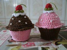 Cupcake crochê