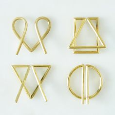 Brass Money Clips made in Brooklyn