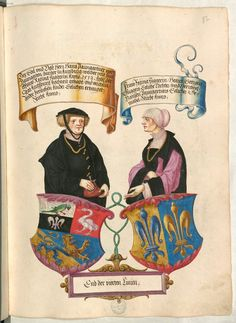 Date: [Cgm 1500s Fashion, German Outfit, Landsknecht, Purple Outfits, Renaissance Clothing, Medieval Art, Small Paintings, Illuminated Manuscript, Coat Of Arms
