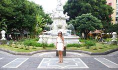 ¡Nuestro primer street style isleño! Tenerife, White Dress, Street View, Street Style, Dresses, Fashion, Santa Cruz, Street, Style