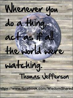 #Thomas Jefferson, #Quote #words