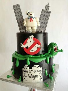 Awesome ghost busters cake