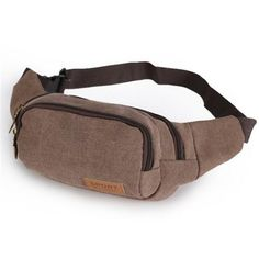 Canvas Waist Packs For Outdoor Sports & Travels (6 Colors Available)