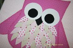 Cute fabric owl!