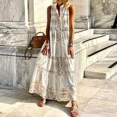 White Maxi Dresses, Casual Dresses, Neck Pattern, Product Description, Slick, Important, Sleeves, Collection, Table