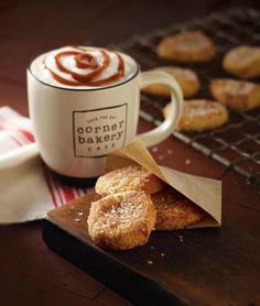 Caramel Latte & Snickerdoodles @Corner Byrne Bakery Cafe