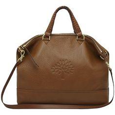 Mulberry Effie Tote Handbag, Oak at £595.